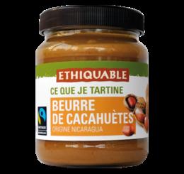 Beurre de cacahuètes equitable bio Ethiquable