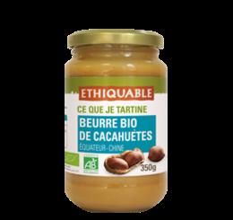 beurre de cacahuète bio et équitable