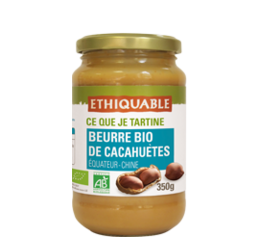 beurre de cacahuetes ethiquable bio