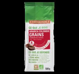 café arabica Colombie Grain 500g ethiquable bio commerce équitableff