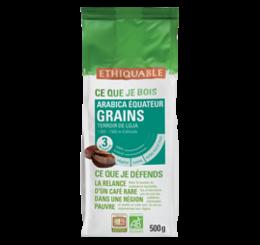 café arabica equateur Grain 500g ethiquable bio commerce équitableff