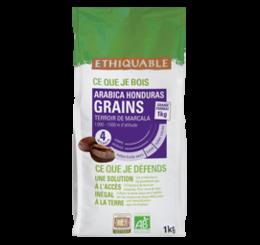 café arabica Honduras Grain 1kg ethiquable bio commerce équitableff