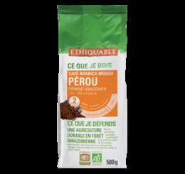 café arabica Pérou 500g ethiquable bio commerce équitable