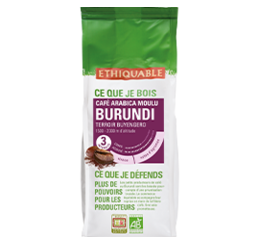 café moulu burundi arabica equitable bio ethiquable