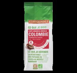 café arabica Colombire ethiquable bio commerce équitablef