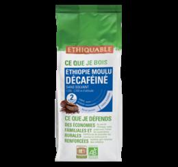 café arabica Ethiopie décaféiné ethiquable bio commerce équitable
