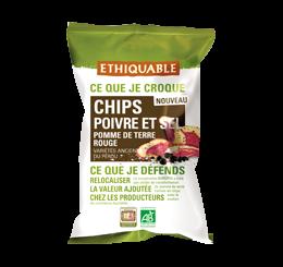 chips poivre et sel équitable bio