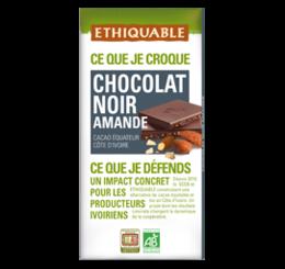 chocolat noir amande ethiquable bio equitable
