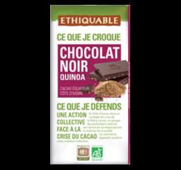 chocolat noir quinoa ethiquable bio commerce equitable