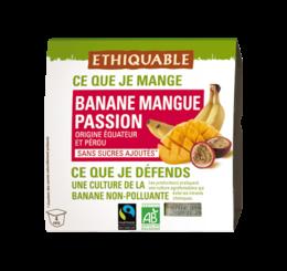 Dessert de Fruits Banane Mangue Passion équitable et bio - ETHIQUABLE