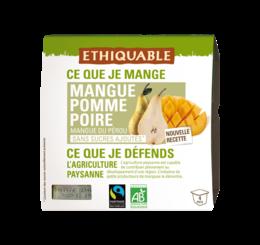 Dessert Mangue Pomme Poire équitable bio ethiquable