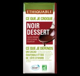 ethiquable_chocolat_noir_dessert bio équitable