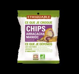 ethiquable chips arracacha manioc bio equitable