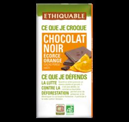 ethiquable chocolat noir orange confite bio equitable