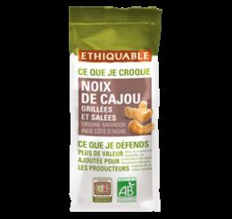 ethiquable noix de cajou grillees et salees bio equitable