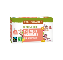 ethiquable the vert agrumes