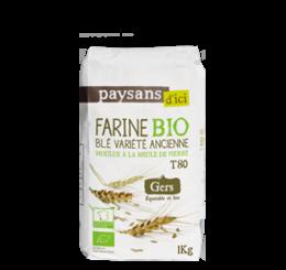 farine blé variété ancienne gers bio equitable france paysansdici