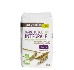 farine intégrale blé bio equitable france paysans d ici