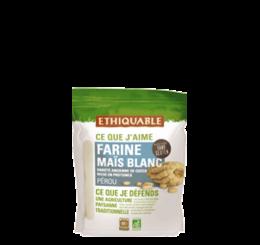 Farine de maïs blanc du perou équitable & bio ethiquable