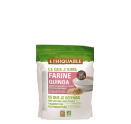 Farine de quinoa d'Equateur équitable & bio ethiquable