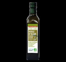 Huile d'olive vierge extra équitable et bio - ETHIQUABLE