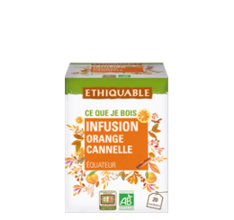 infusion cannelle orange bio equitable ethiquable