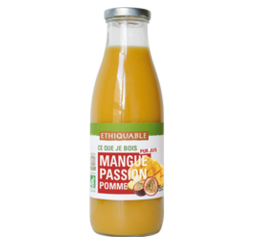 mangue passion pur jus bio equitable ethiquable