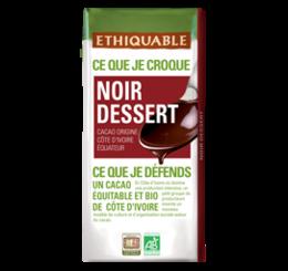noir dessert ethiquable bio équitable