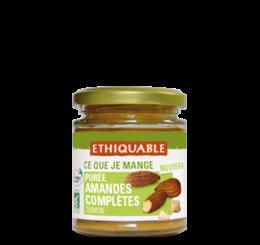 pâte amandes complètes bio équitable ethiquable