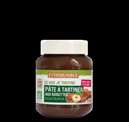 pate à tartiner bio équitable sans huile de palme