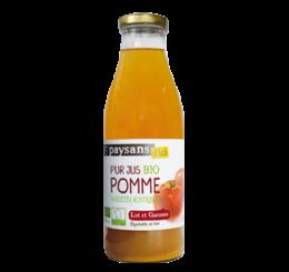 Pur jus de Pomme du Lot et Garonne - Paysans d'ici commerce équitable bio