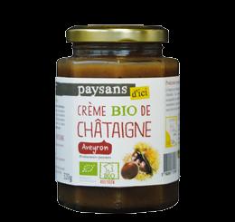 Crème de Châtaigne de l'Aveyron commerce équitable bio - Paysans d'ici