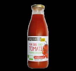 Pur Jus de Tomate de Marmande pleins champs - Paysans d'ici commerce équitable bio