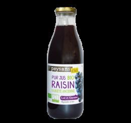 Pur jus de raisin du Lot et Garonne - Paysans d'ici commerce équitable bio