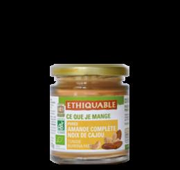 Purée-amandes-complètes-cajou-bio-equitable-ethiquable
