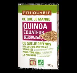Quinoa croquant équitable & bio
