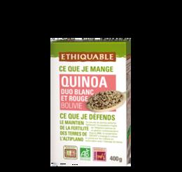 quinoa rouge et blanc bio equitable ethiquable