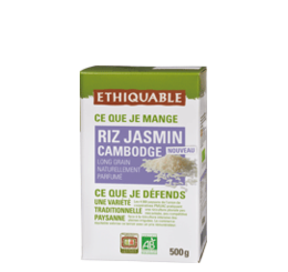 riz jasmin cambodge bio equitable ethiquable