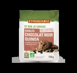 ethiquable sables chocolat noir quinoa bio equitable