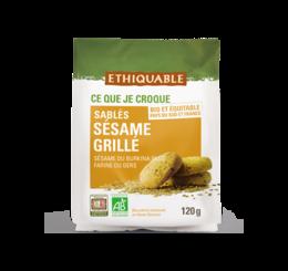 ethiquable sables sesame grille bio equitable