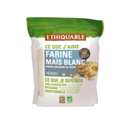 sans gluten farine mais blanc bioequitable