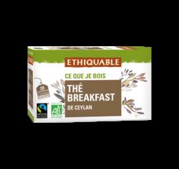thé breafast ethiquable bio équitable