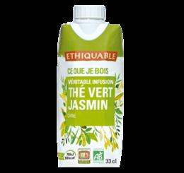 thé glacé vert jasmin équitable bio ethiquable