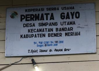 permata gayo cafe sumatra ETHIQUABLE BIO EQUITABLE