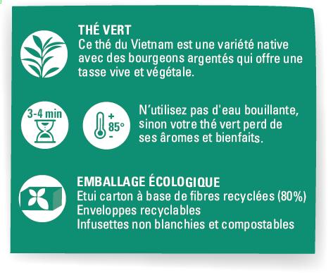 thé vert menthe équitable bio ethiquable